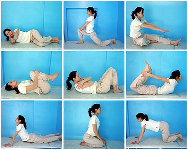 Примеры упражнений для укрепления мышц и восстановления позвоночника