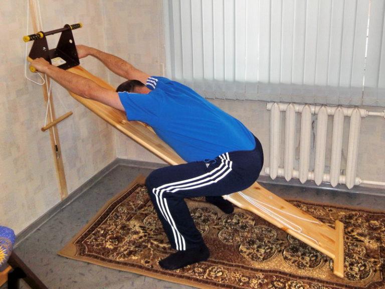 Как сделать кровать для растяжки позвоночника