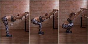2. Растяжка мышц плеч/спины