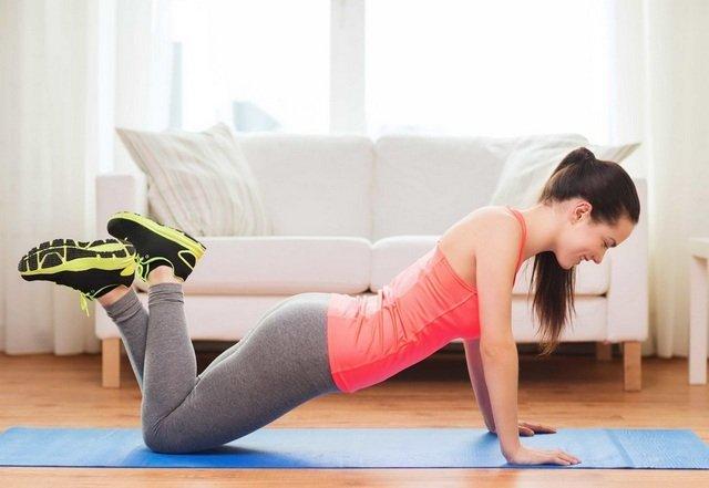 Облегченная планка укрепит мышцы спины