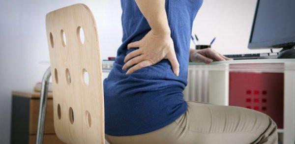 Боли в спине при сидячей многочасовой работе