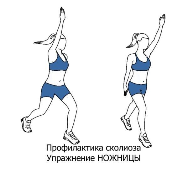 Упражнение №1: Ножницы
