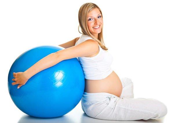 Фитбол при беременности