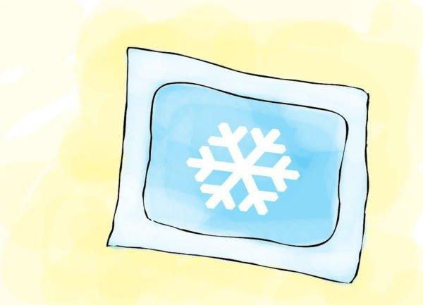 Холодный компресс