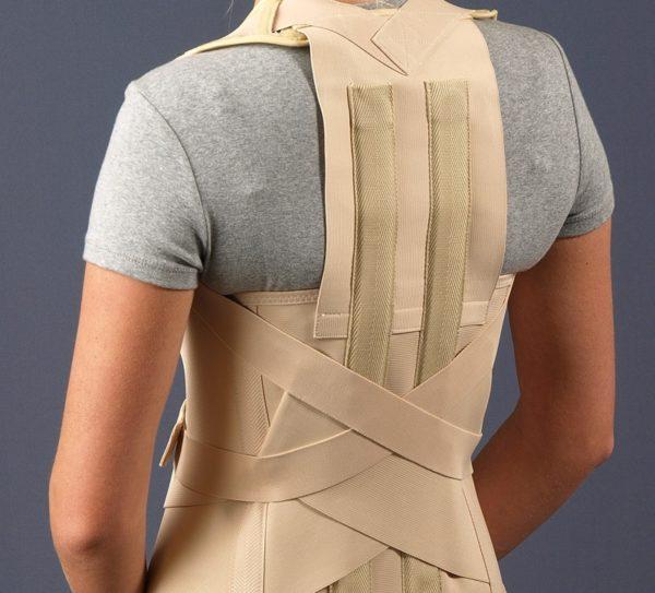 Корсет для спины поддерживающий при сколиозе