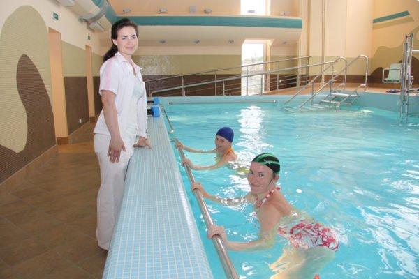 Лечебная физкультура в воде