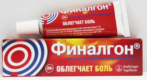 Мазь «Финалгон»