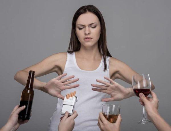 Отказ от вредных привычек очень важен