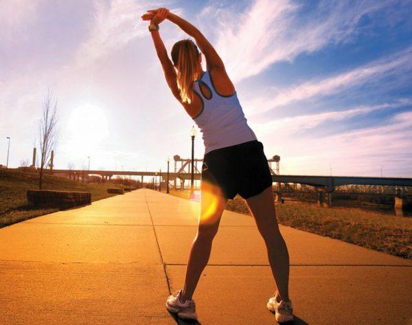 Разминка - обязательная часть упражнений