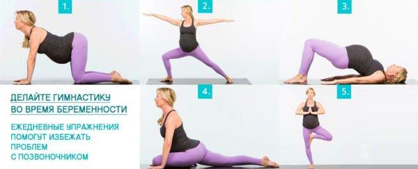 Упражнения для беременных женщин