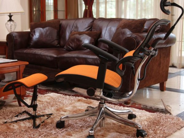 Вариант удобного ортопедического кресла
