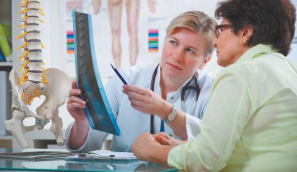 Диагностика компрессионного перелома позвоночника