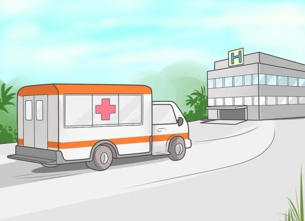 Дождитесь приезда медиков