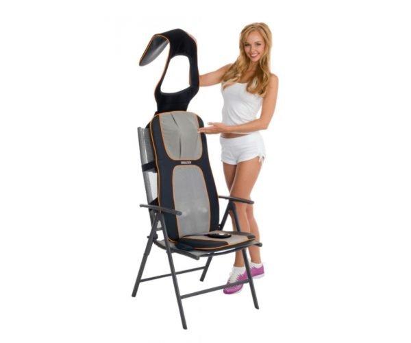 Если у вас нет возможности приобрести дорогостоящее массажное кресло либо нет времени для посещения специализированных салонов, отличным выбором будет массажная накидка