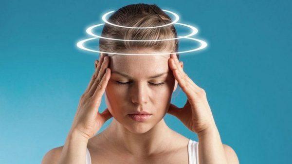 Головокружение - еще один из возможных симптомов