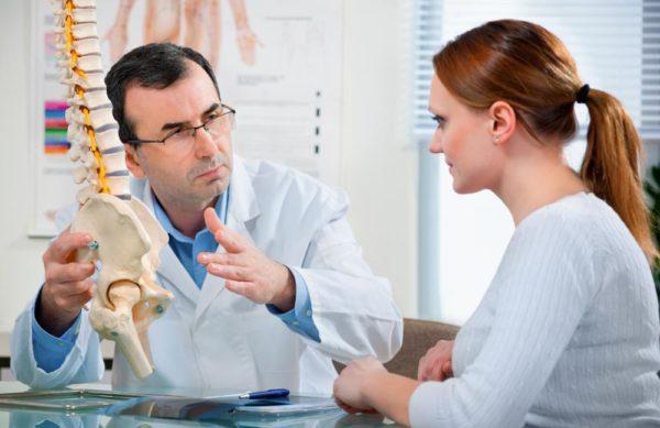 Если боль нарастает, нужно обратиться к врачу
