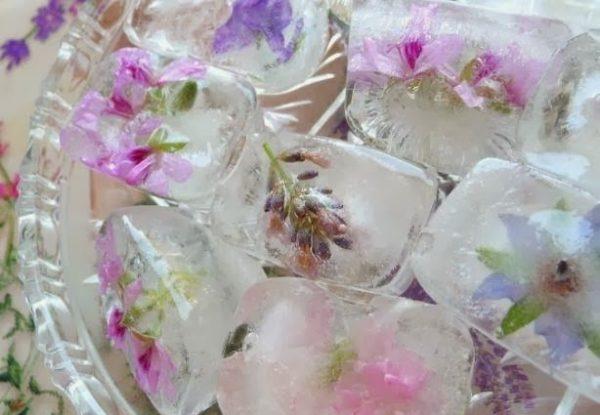 Кубики льда для массажа