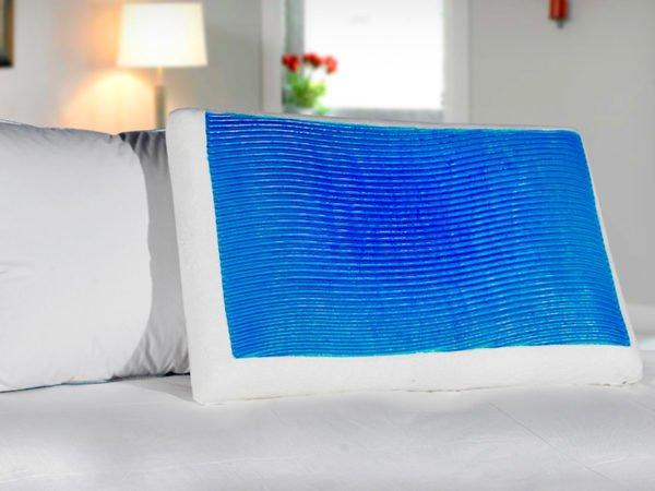 Мягкая подушка с гелем