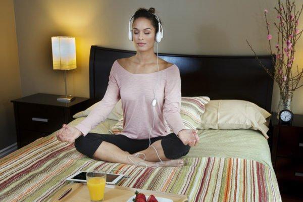Нужно научиться расслабляться