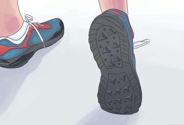Обувь не должна скользить