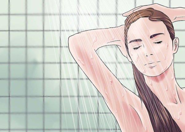 Обязательно примите душ