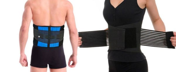 Ортопедический пояс для поддержки спины