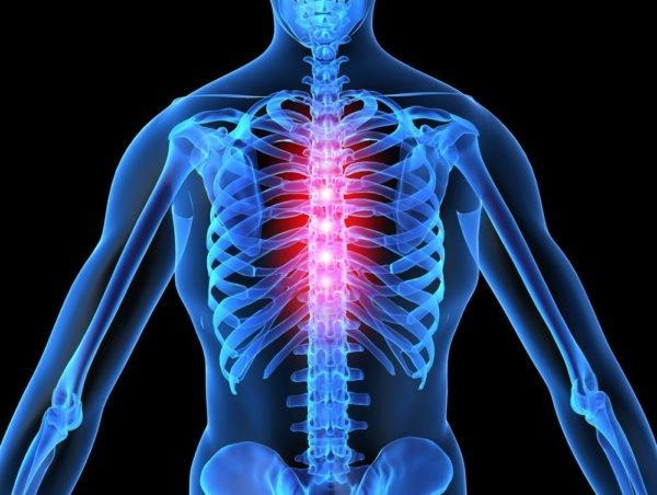 Остеохондроз позвоночника грудного отдела