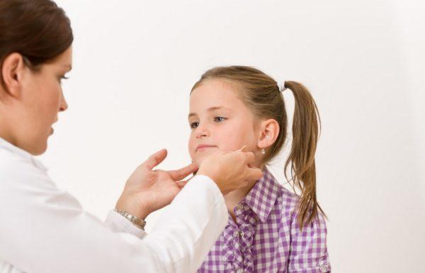 Подвывих шейного позвонка у ребенка