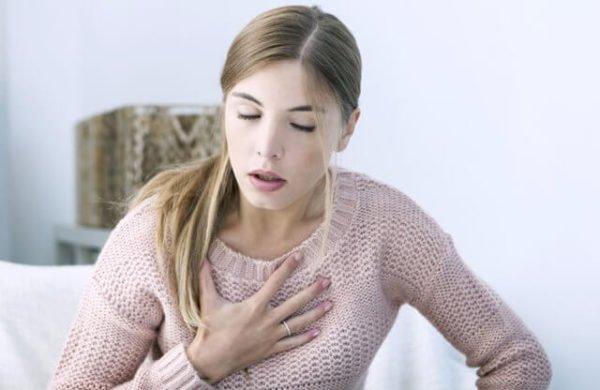 При стенозе возможно нарушение функций дыхания