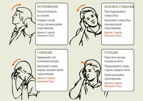 Профилактика остеохондроза шейного отдела позвоночника