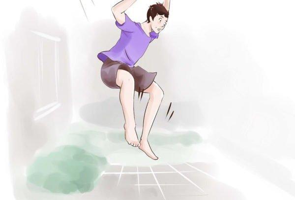 Прыжки с высоты желательно исключить