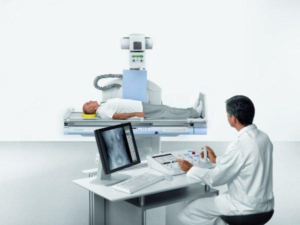 Рентгенодиагностика пациента
