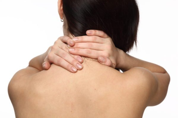 Самомассаж шеи перед занятиями