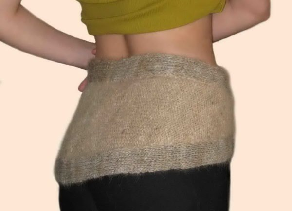 Шерстяной шарф поможет снять боль