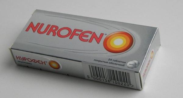 Таблетки Nurofen обезболивающие