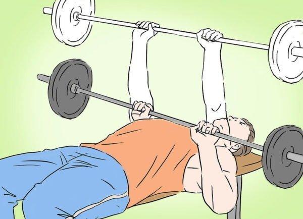Тяжелый спорт может быть опасен