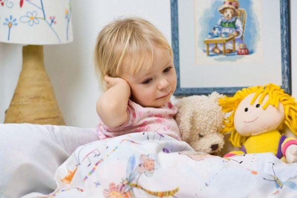 У ребенка симптомы могут оказаться незамеченными