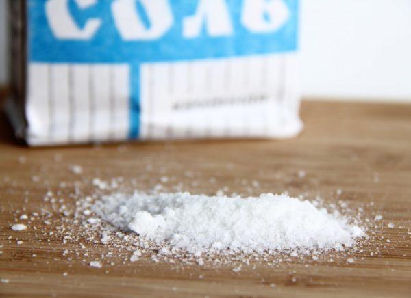 Употребляйте меньше соли