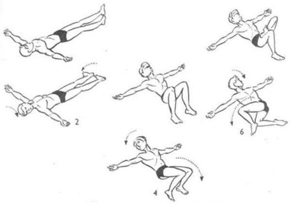 Упражнение «Крокодил» для здоровья позвоночника