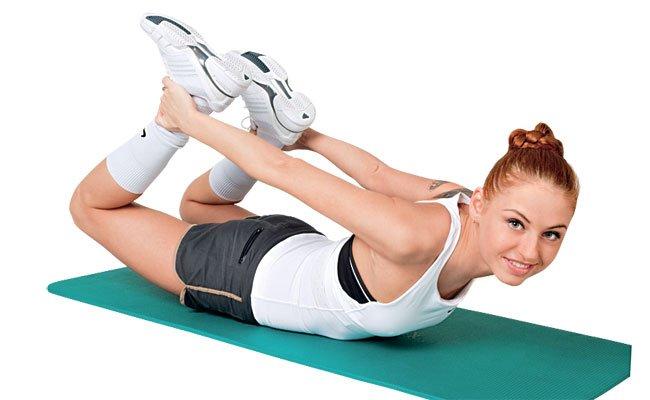 Упражнения для спины от остеохондроза
