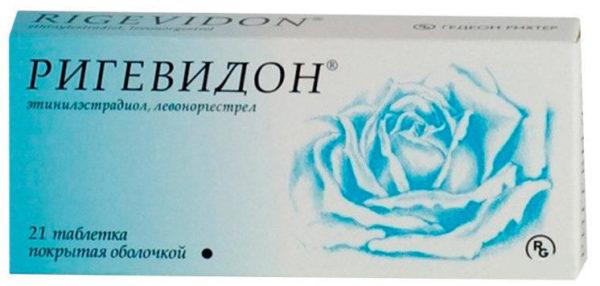 """Гормональные контрацептивы, например, препарат """"Ригевидон"""", приводят к снижению плотности костей при длительном приеме"""
