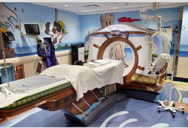 Аппарат МРТ в детской больнице