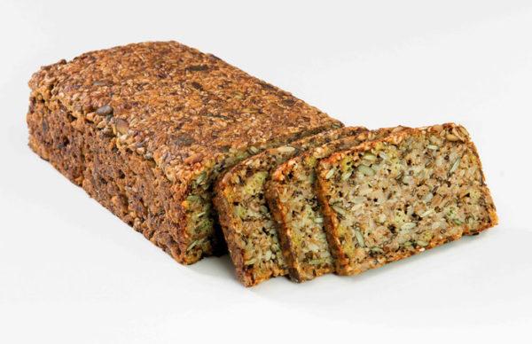 Бездрожжевой цельнозерновой хлеб