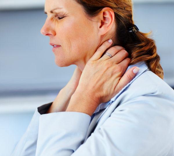 Боли в шее могут быть следствием возрастных изменений