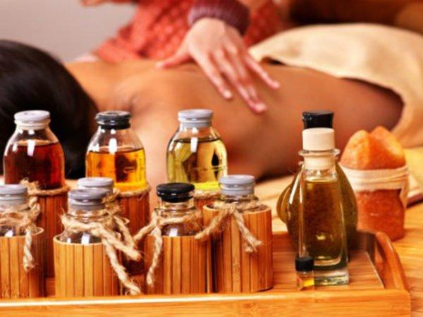 Для массажа можно дополнительно использовать эфирные масла