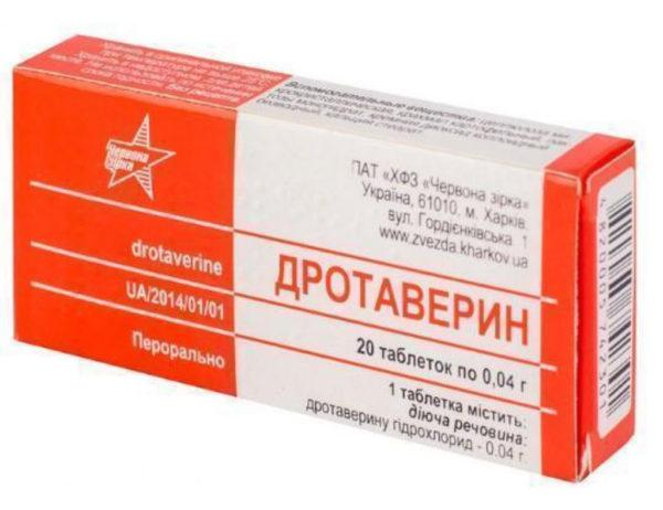 Быстро устранить боль и спазмы в шее поможет дротаверин