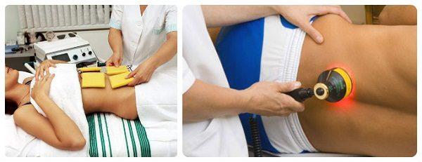 Физиотерапевтические процедуры позволяют быстро снять болевые ощущения и восстановить двигательные функции