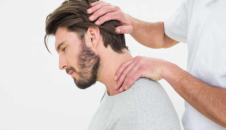 Растяжение при лечении грыжи шейного отдела позвоночника