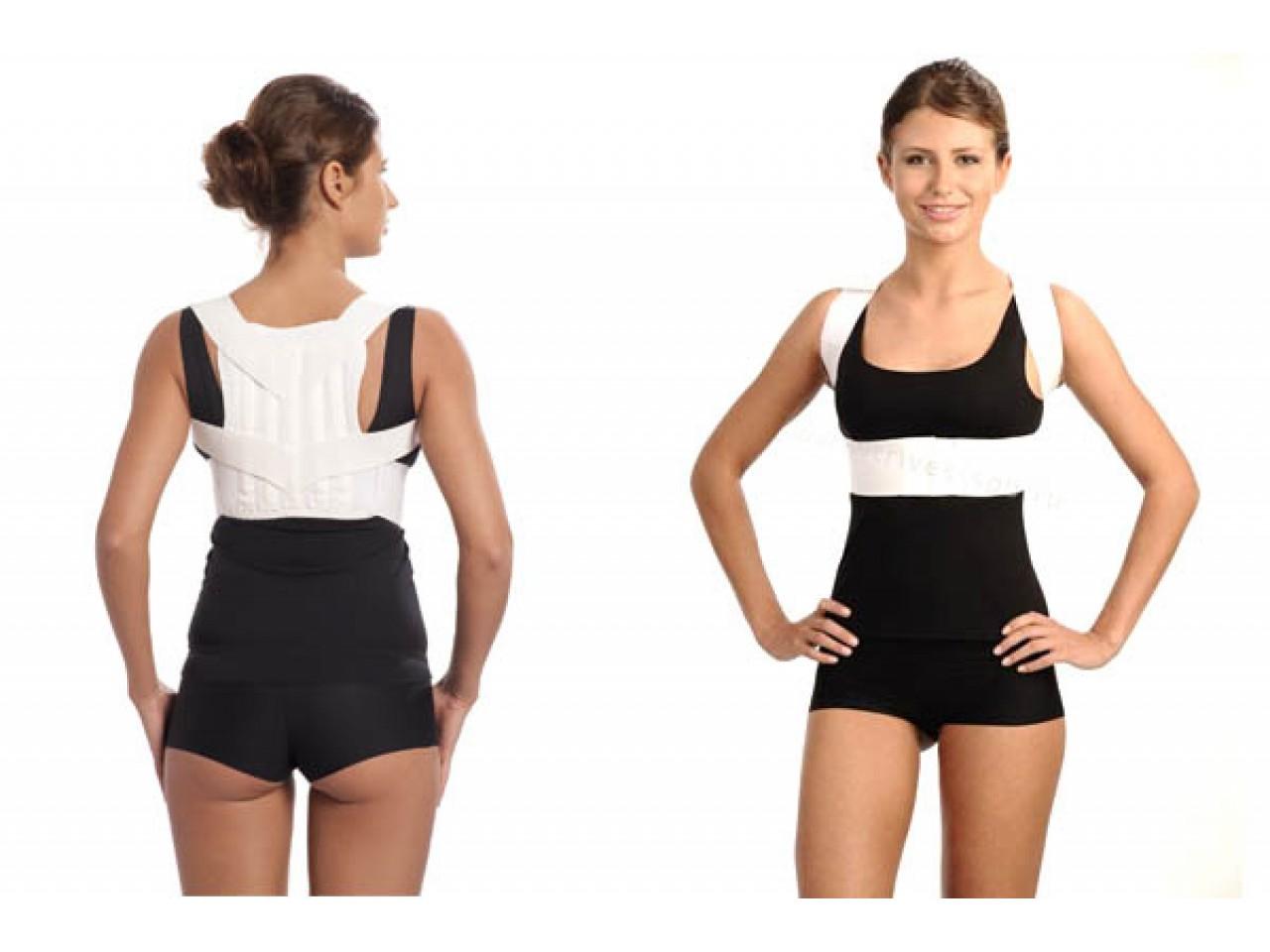 Корсет для осанки-основные виды для взрослых и детей, как правильно носить для выпрямления спины