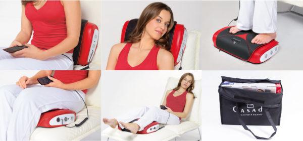 Массажная подушка поможет расслабиться и отдохнуть